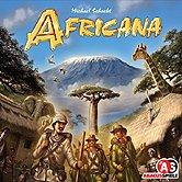 Brettspiele bei AEIOU.DE - Abbildung: Frontcover der Spielbox von Africana