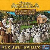 Brettspiele bei AEIOU.DE - Abbildung: Frontcover der Spielbox von Agricola - Die Bauern und das liebe Vieh