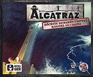 Brettspiele bei AEIOU.DE - Abbildung: Frontcover der Spielbox von Alcatraz