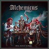 Brettspiele bei AEIOU.DE - Abbildung: Frontcover der Spielbox von Alchemicus