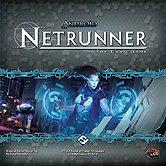 Brettspiele bei AEIOU.DE - Abbildung: Frontcover der Spielbox von Android Netrunner