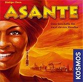 Brettspiele bei AEIOU.DE - Abbildung: Frontcover der Spielbox von Asante