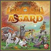 Brettspiele bei AEIOU.DE - Abbildung: Frontcover der Spielbox von Asgard
