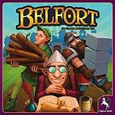 Brettspiele bei AEIOU.DE - Abbildung: Frontcover der Spielbox von Belfort