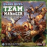 Brettspiele bei AEIOU.DE - Abbildung: Frontcover der Spielbox von Blood Bowl Team Manager