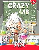 Brettspiele bei AEIOU.DE - Abbildung: Frontcover der Spielbox von Crazy Lab