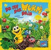 Brettspiele bei AEIOU.DE - Abbildung: Frontcover der Spielbox von Da ist der Wurm drin - Kinderspiel des Jahres 2011