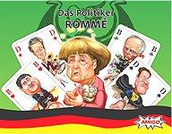 Brettspiele bei AEIOU.DE - Abbildung: Frontcover der Spielbox von Das Politiker Rommé