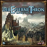 Brettspiele bei AEIOU.DE - Abbildung: Frontcover der Spielbox von Der Eiserne Thron - Das Brettspiel