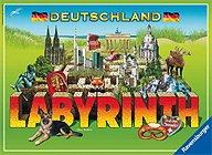 Brettspiele bei AEIOU.DE - Abbildung: Frontcover der Spielbox von Deutschland Labyrinth