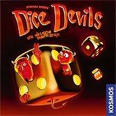 Brettspiele bei AEIOU.DE - Abbildung: Frontcover der Spielbox von Dice Devils