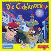 Brettspiele bei AEIOU.DE - Abbildung: Frontcover der Spielbox von Die Codeknacker