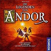 Die Legenden von Andor Frontcover der Spielbox
