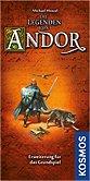 Brettspiele bei AEIOU.DE - Abbildung: Frontcover der Spielbox von Die Legenden von Andor