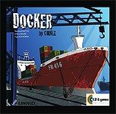 Brettspiele bei AEIOU.DE - Abbildung: Frontcover der Spielbox von Docker