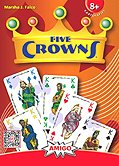 Brettspiele bei AEIOU.DE - Abbildung: Frontcover der Spielbox von Five Crowns