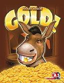 Rezensionen bei AEIOU.DE - Abbildung: Frontcover der Spielbox von Gold!