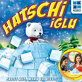 Brettspiele bei AEIOU.DE - Abbildung: Frontcover der Spielbox von Hatschi Iglu