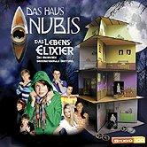 Brettspiele bei AEIOU.DE - Abbildung: Frontcover der Spielbox von Das Haus Anubis - Das Lebenselixier