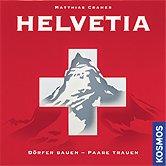 Rezensionen bei AEIOU.DE - Abbildung: Frontcover der Spielbox von Helvetia
