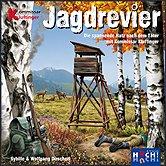 Brettspiele bei AEIOU.DE - Abbildung: Frontcover der Spielbox von Jagdrevier
