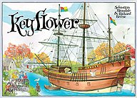 Brettspiele bei AEIOU.DE - Abbildung: Frontcover der Spielbox von Keyflower