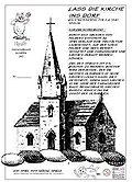 Brettspiele bei AEIOU.DE - Abbildung: Frontcover der Spielbox von Lass die Kirche ins Dorf