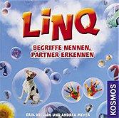 Rezensionen bei AEIOU.DE - Abbildung: Frontcover der Spielbox von LINQ