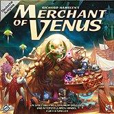 Brettspiele bei AEIOU.DE - Abbildung: Frontcover der Spielbox von Merchant of Venus