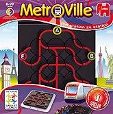 Brettspiele bei AEIOU.DE - Abbildung: Frontcover der Spielbox von Metroville