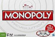 Rezensionen bei AEIOU.DE - Abbildung: Frontcover der Spielbox von Monopoly Revolution