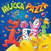 Brettspiele bei AEIOU.DE - Abbildung: Frontcover der Spielbox von Mucca Pazza