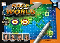 Rezensionen bei AEIOU.DE - Abbildung: Frontcover der Spielbox von Race around the World