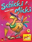 Brettspiele bei AEIOU.DE - Abbildung: Frontcover der Spielbox von Schicki Micki