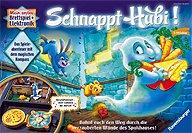 Brettspiele bei AEIOU.DE - Abbildung: Frontcover der Spielbox von Schnappt Hubi! - Kinderspiel des Jahres 2012
