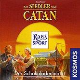 Brettspiele bei AEIOU.DE - Abbildung: Frontcover der Spielbox von Die Siedler von Catan - Der Schokoladenmarkt