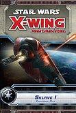 Brettspiele bei AEIOU.DE - Abbildung: Frontcover der Spielbox von Star Wars X-Wing - Sklave 1 Erweiterung