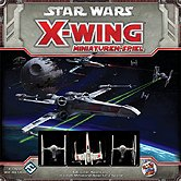 Star Wars X-Wing Frontcover der Spielbox