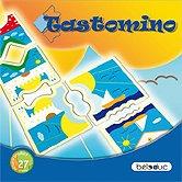 Brettspiele bei AEIOU.DE - Abbildung: Frontcover der Spielbox von Tastomino