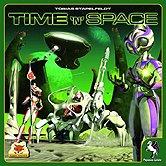 Brettspiele bei AEIOU.DE - Abbildung: Frontcover der Spielbox von Time 'n' Space