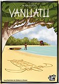 Brettspiele bei AEIOU.DE - Abbildung: Frontcover der Spielbox von Vanuatu