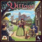 Brettspiele bei AEIOU.DE - Abbildung: Frontcover der Spielbox von Village - Kennerspiel des Jahres 2012